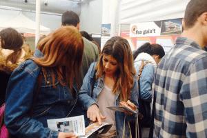 Alumnes a la Fira Guia't 2017