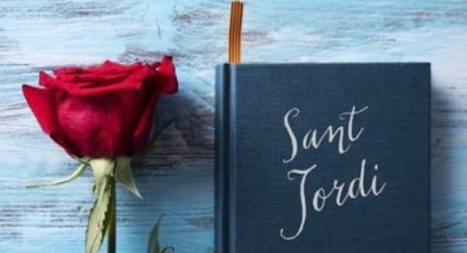 Sant Jordi a les biblioteques