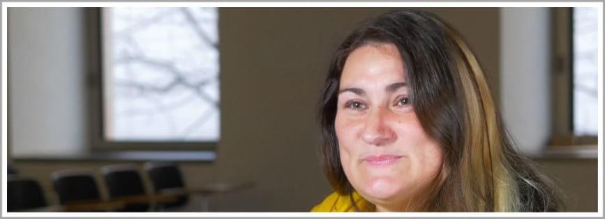 Núria Vergés, membre de la Col·lectiva Donestech i Departament de Sociologia de la Universitat de Barcelona