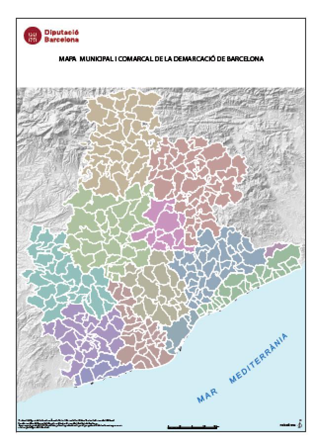 Descargas Mapas Idebarcelona Diputacio De Barcelona